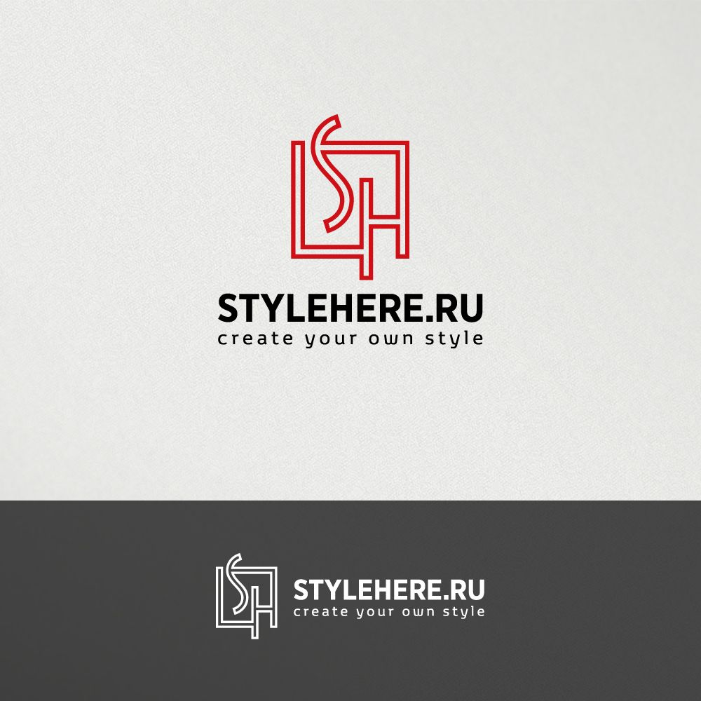 Логотип для интернет-магазина stylehere.ru - дизайнер mz777