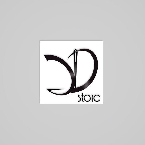 Логотип для  магазина-ателье  - дизайнер mess