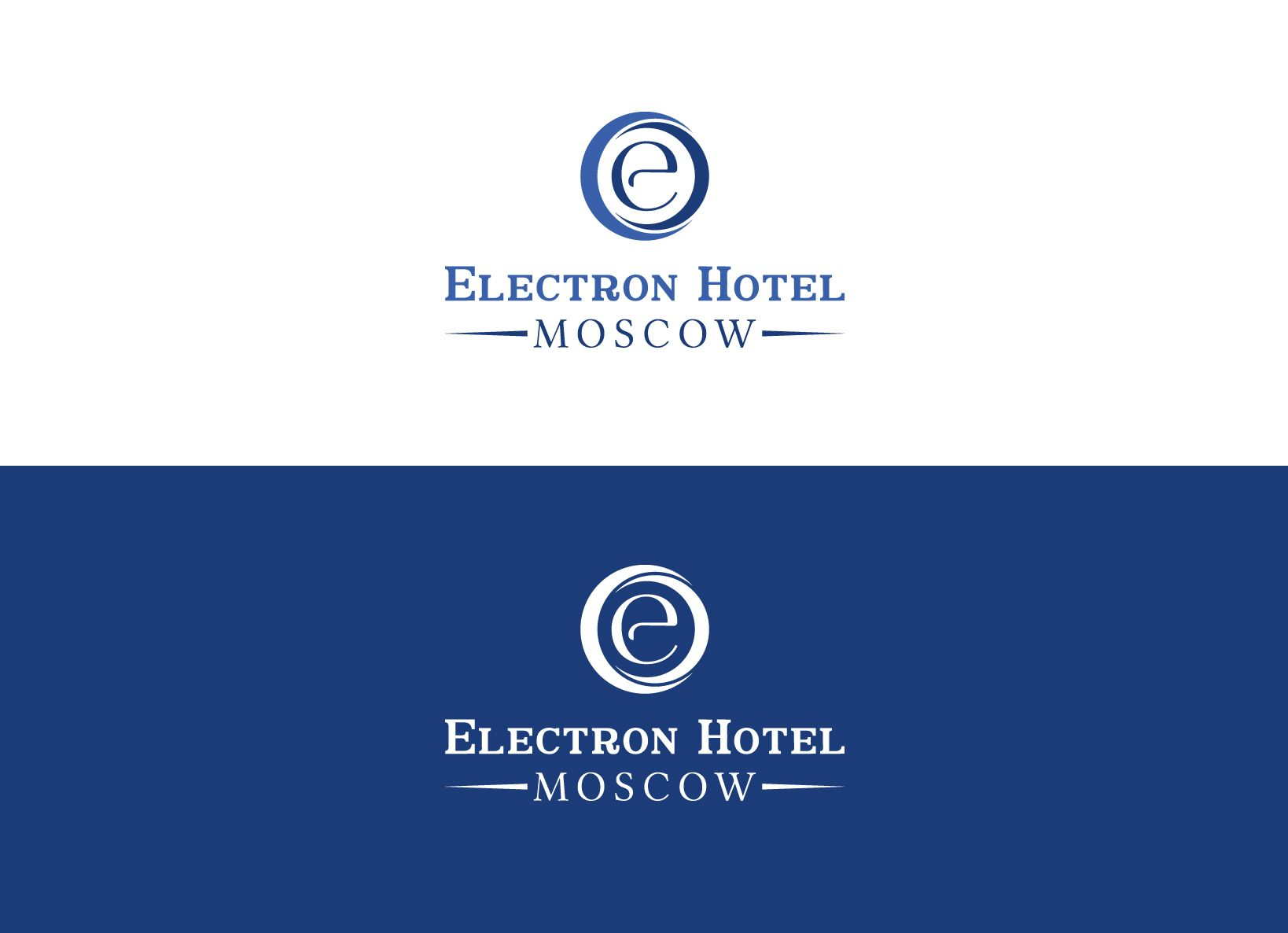 Логотип и фирменный стиль для гостиницы