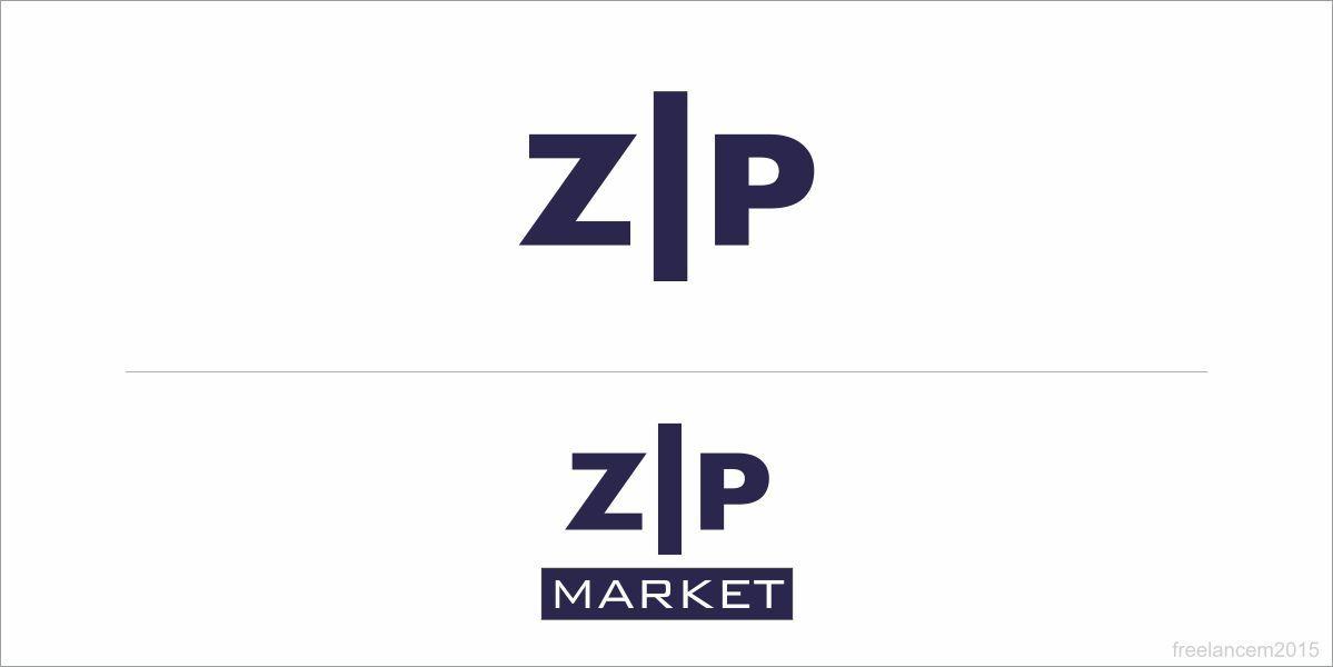 Логотип и ФС для ZIP Market - дизайнер freelancem2015