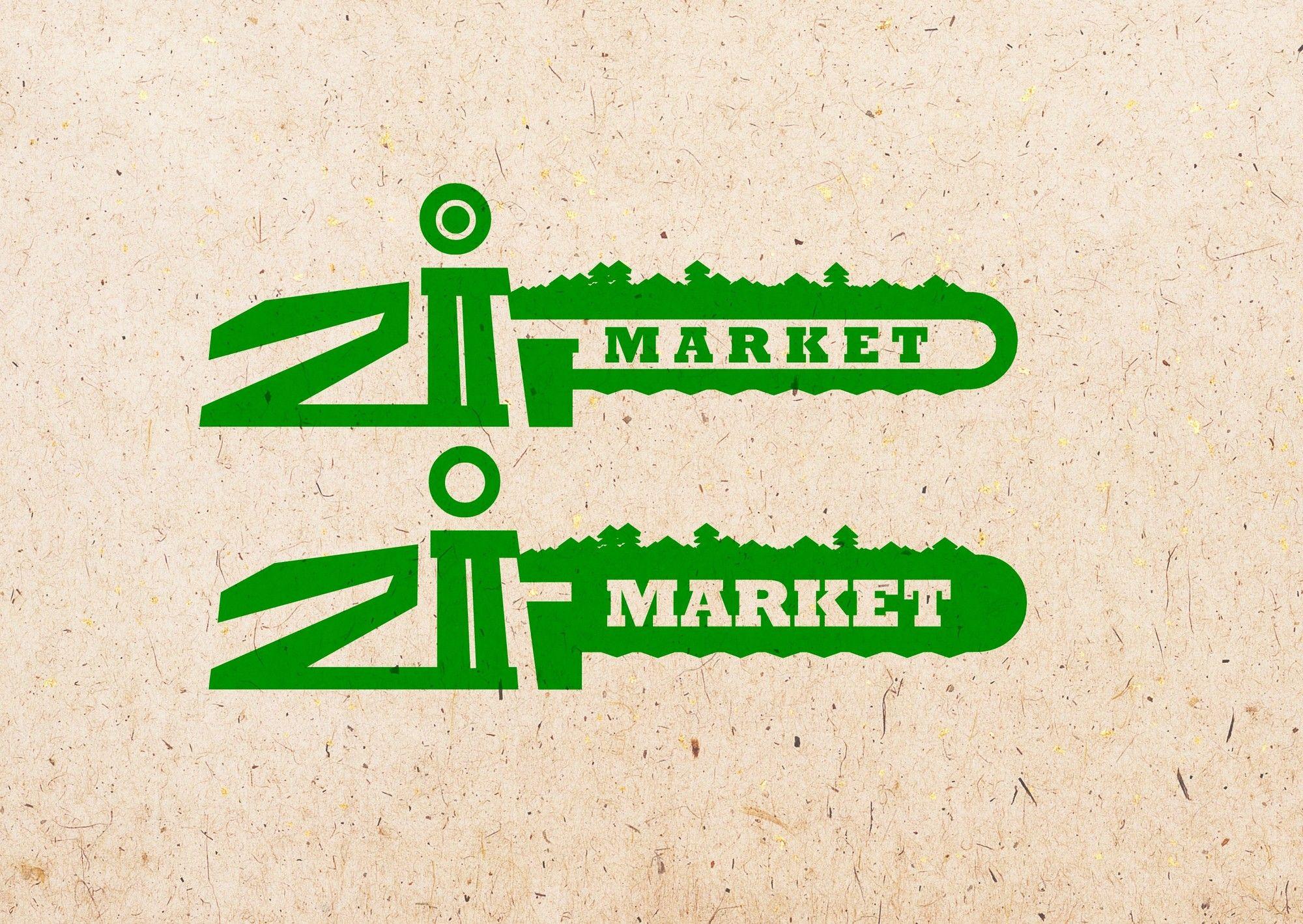 Логотип и ФС для ZIP Market - дизайнер ooragela