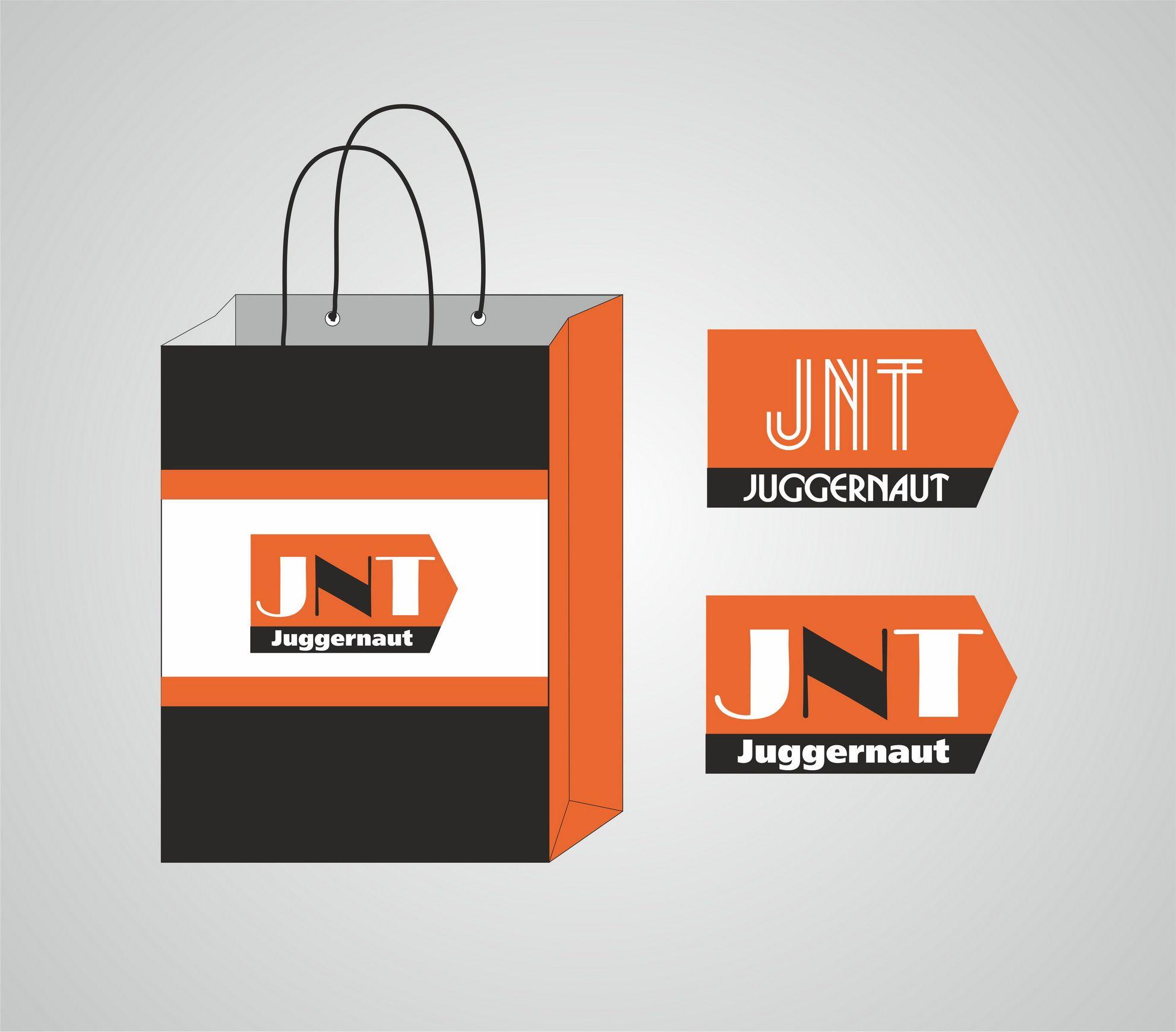 Логотип и дизайн упаковки для бренда одежды - дизайнер Angrain