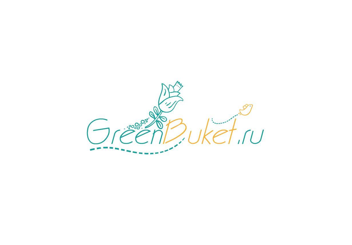 Логотип для сети цветочных магазинов - дизайнер PomidoR