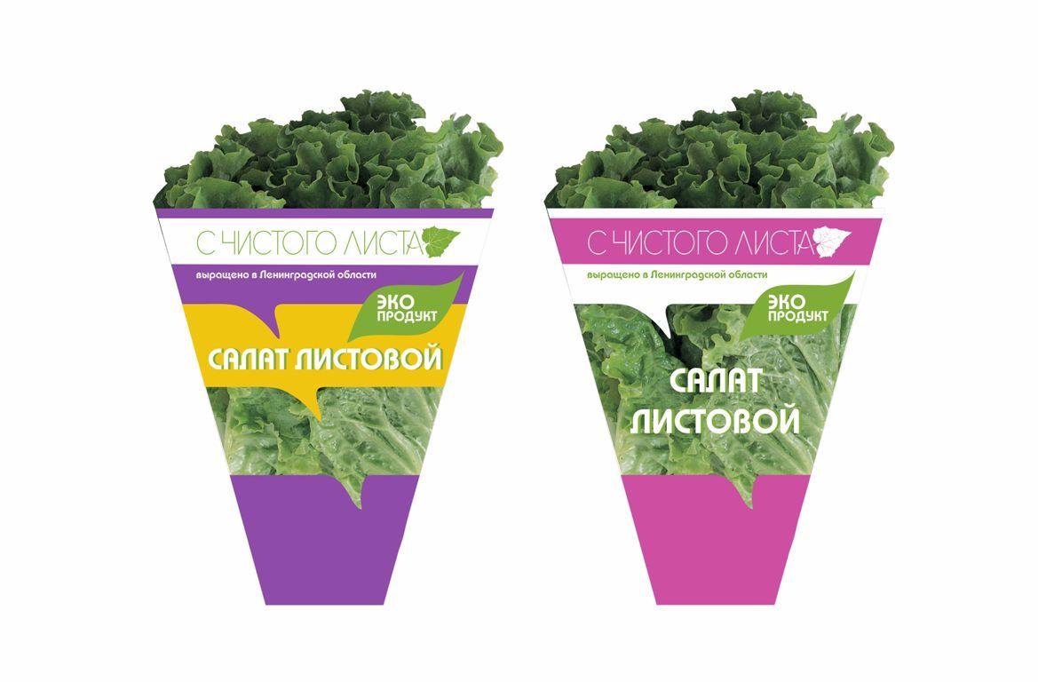 Упаковка для салата в горшочке от ООО Круглый Год - дизайнер IRINAF