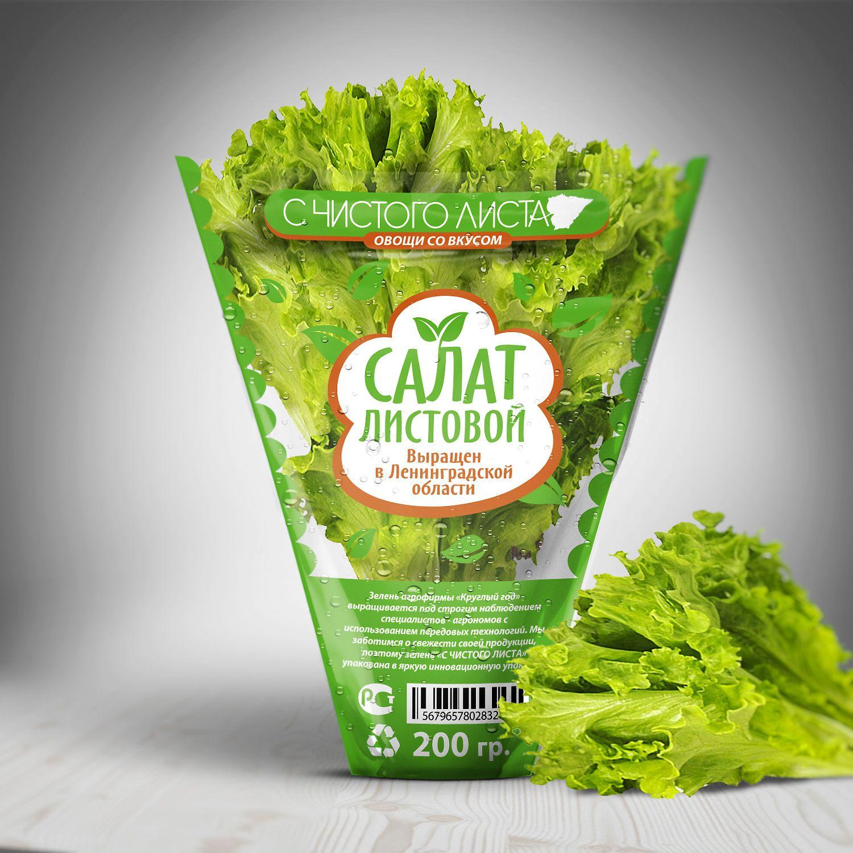 Упаковка для салата в горшочке от ООО Круглый Год - дизайнер asimbox