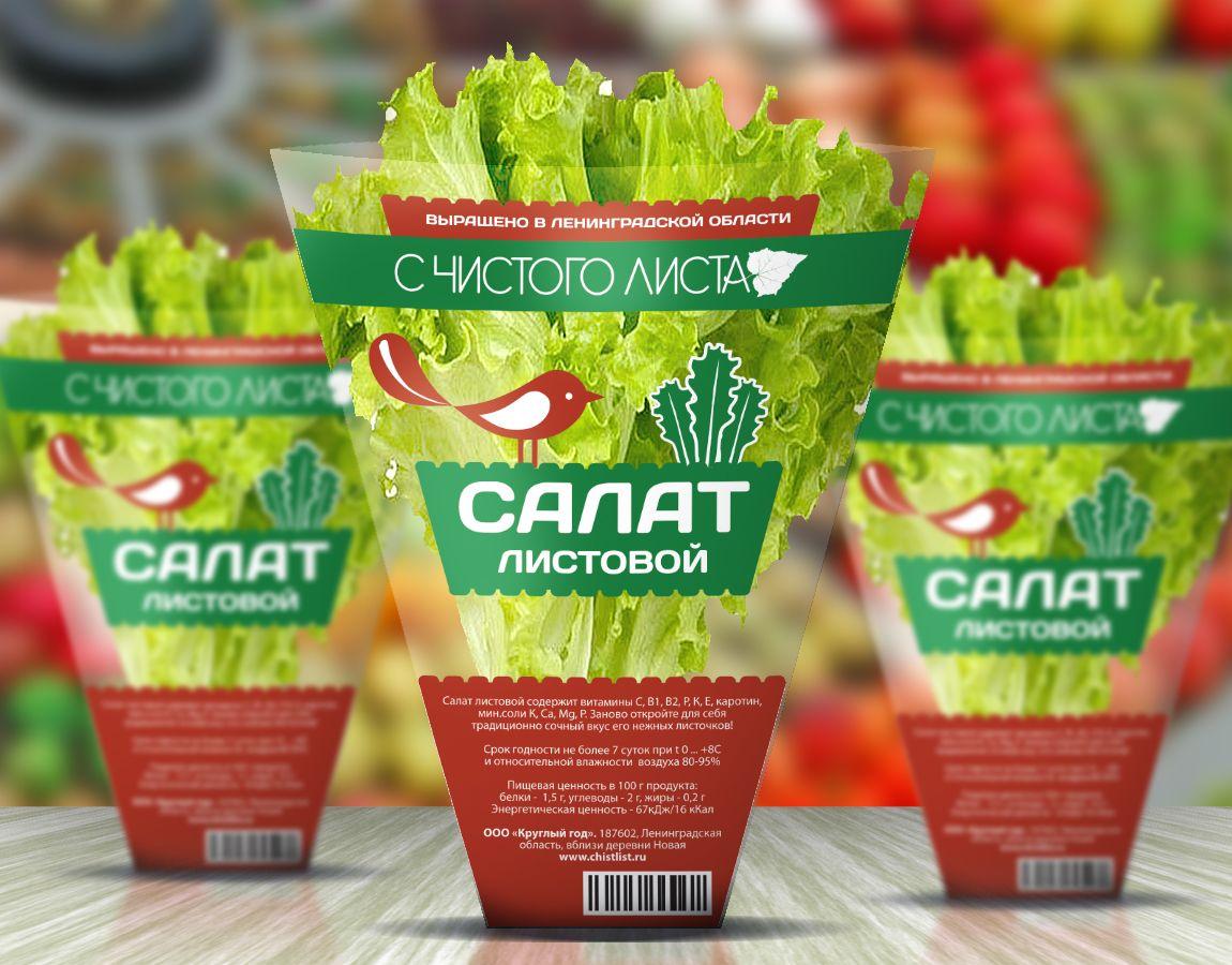 Упаковка для салата в горшочке от ООО Круглый Год - дизайнер GoldenIris