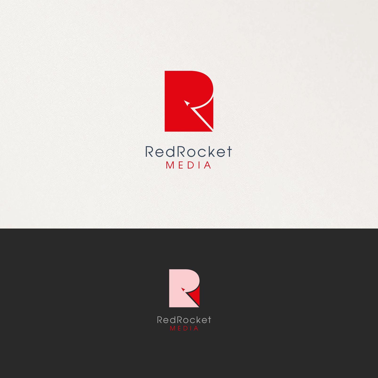 Лого и фирменный стиль для RedRocketMedia - дизайнер irkin