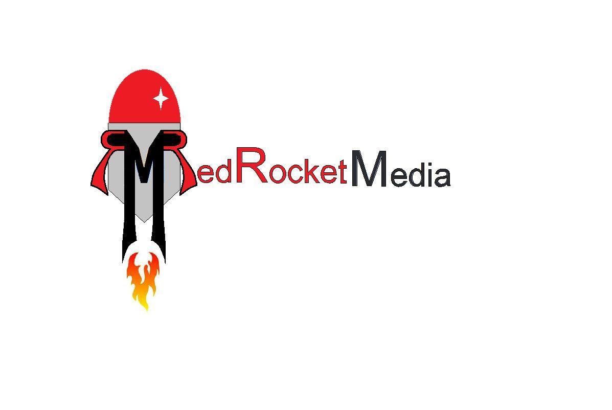 Лого и фирменный стиль для RedRocketMedia - дизайнер MariaKalash