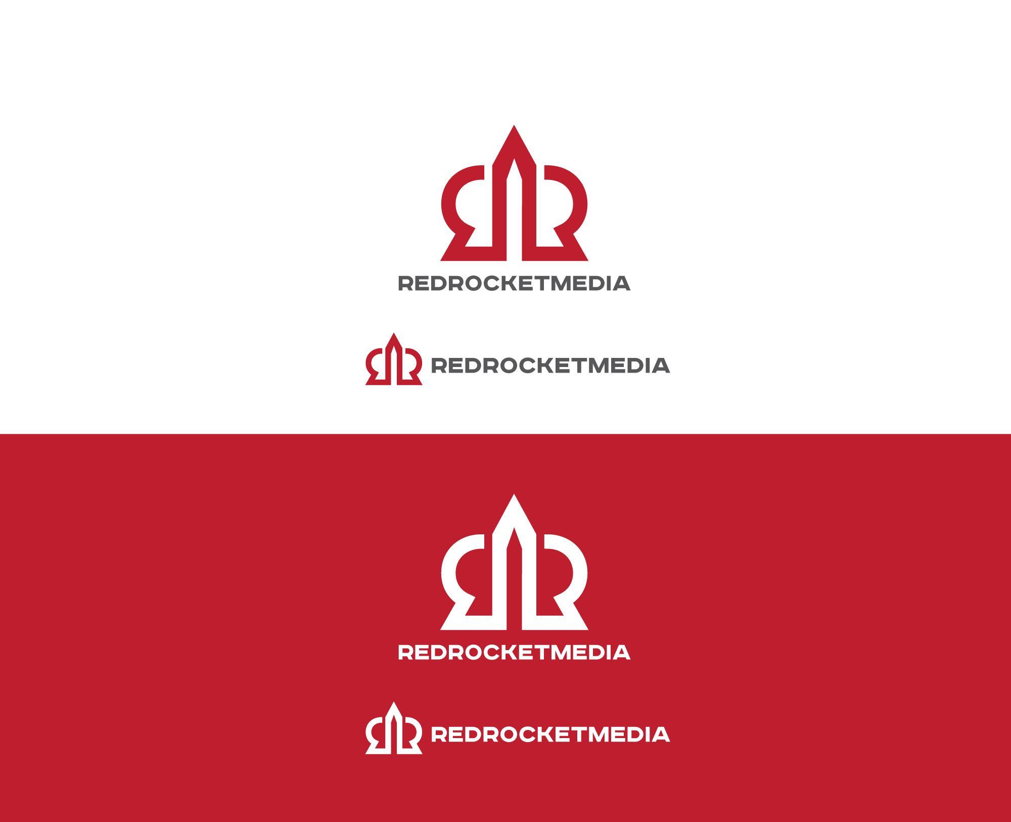 Лого и фирменный стиль для RedRocketMedia - дизайнер spawnkr