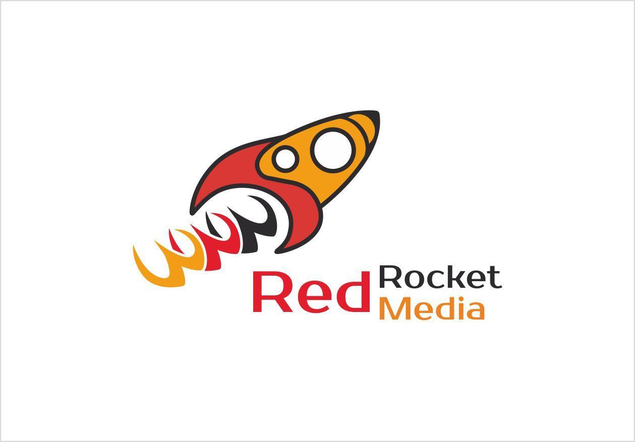 Лого и фирменный стиль для RedRocketMedia - дизайнер OlikaF