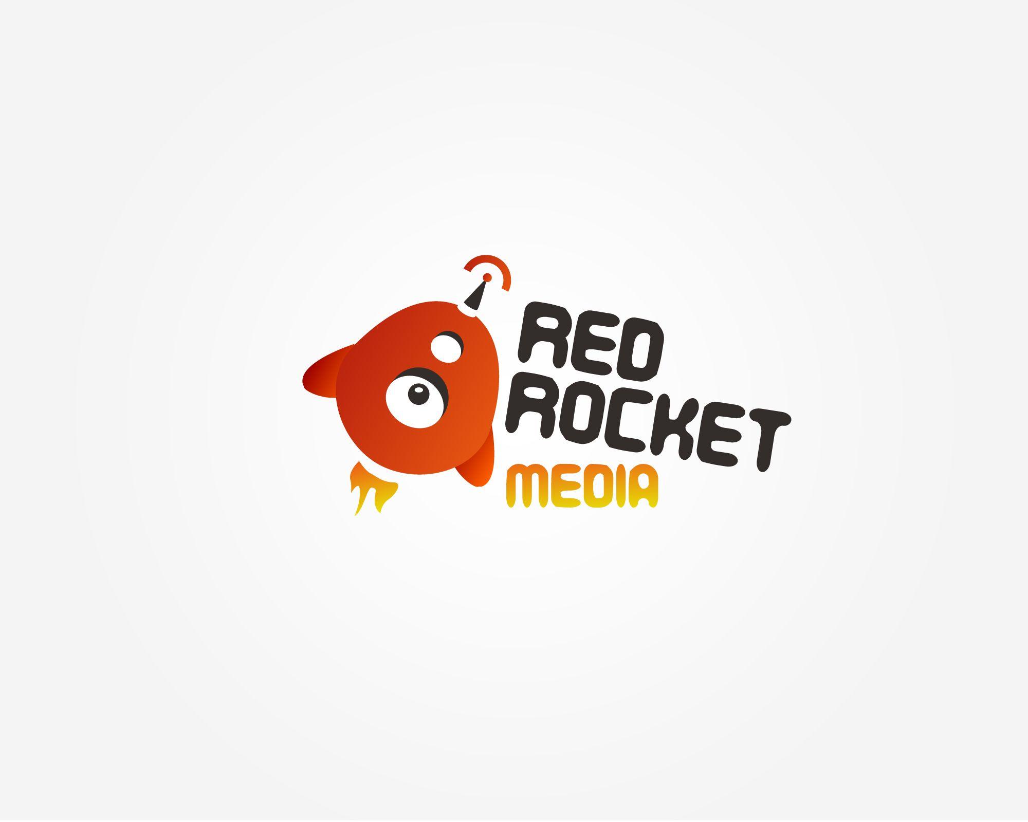 Лого и фирменный стиль для RedRocketMedia - дизайнер galytska
