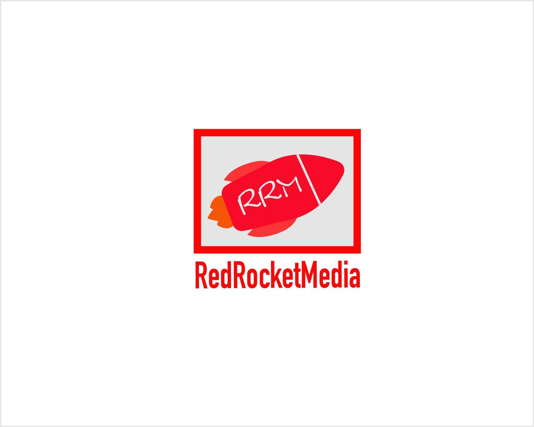 Лого и фирменный стиль для RedRocketMedia - дизайнер gusena23
