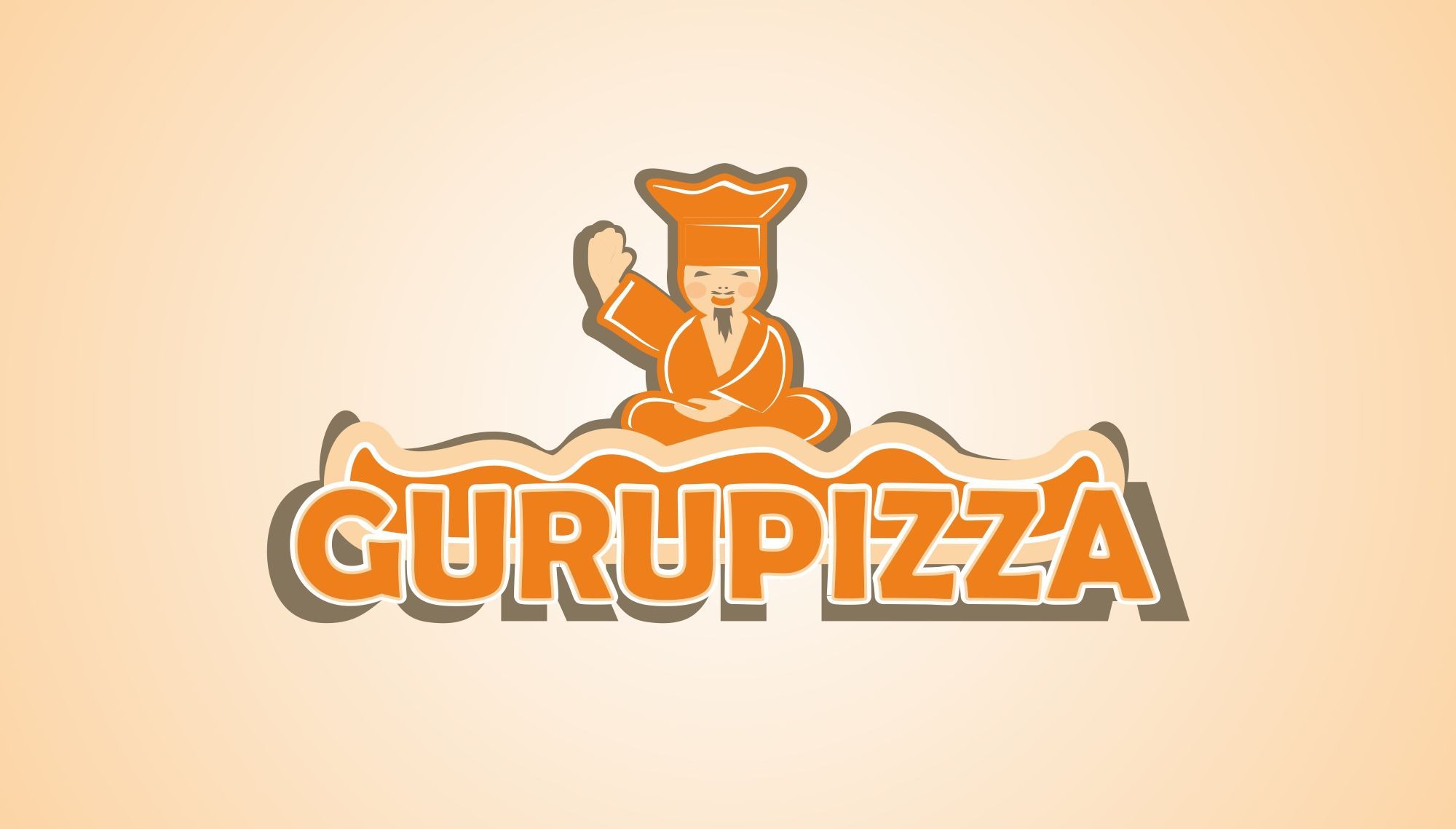 Логотип для GURUPIZZA - дизайнер markosov