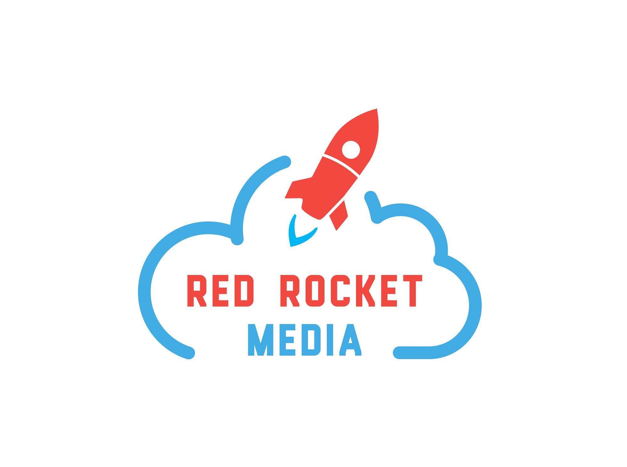 Лого и фирменный стиль для RedRocketMedia - дизайнер Vittold
