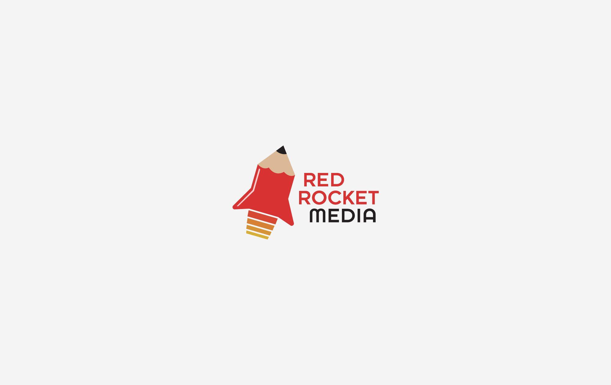 Лого и фирменный стиль для RedRocketMedia - дизайнер nuttale
