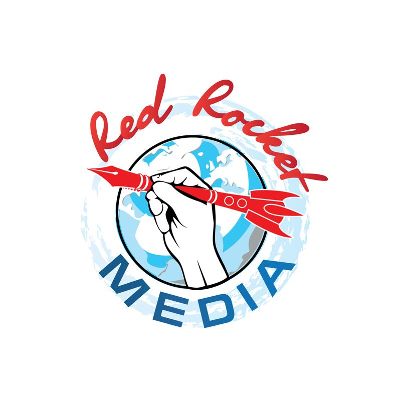 Лого и фирменный стиль для RedRocketMedia - дизайнер Kostic1
