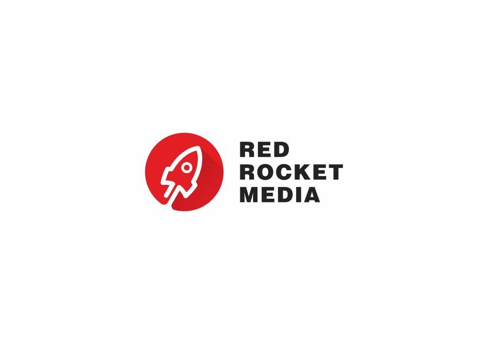 Лого и фирменный стиль для RedRocketMedia - дизайнер zozuca-a