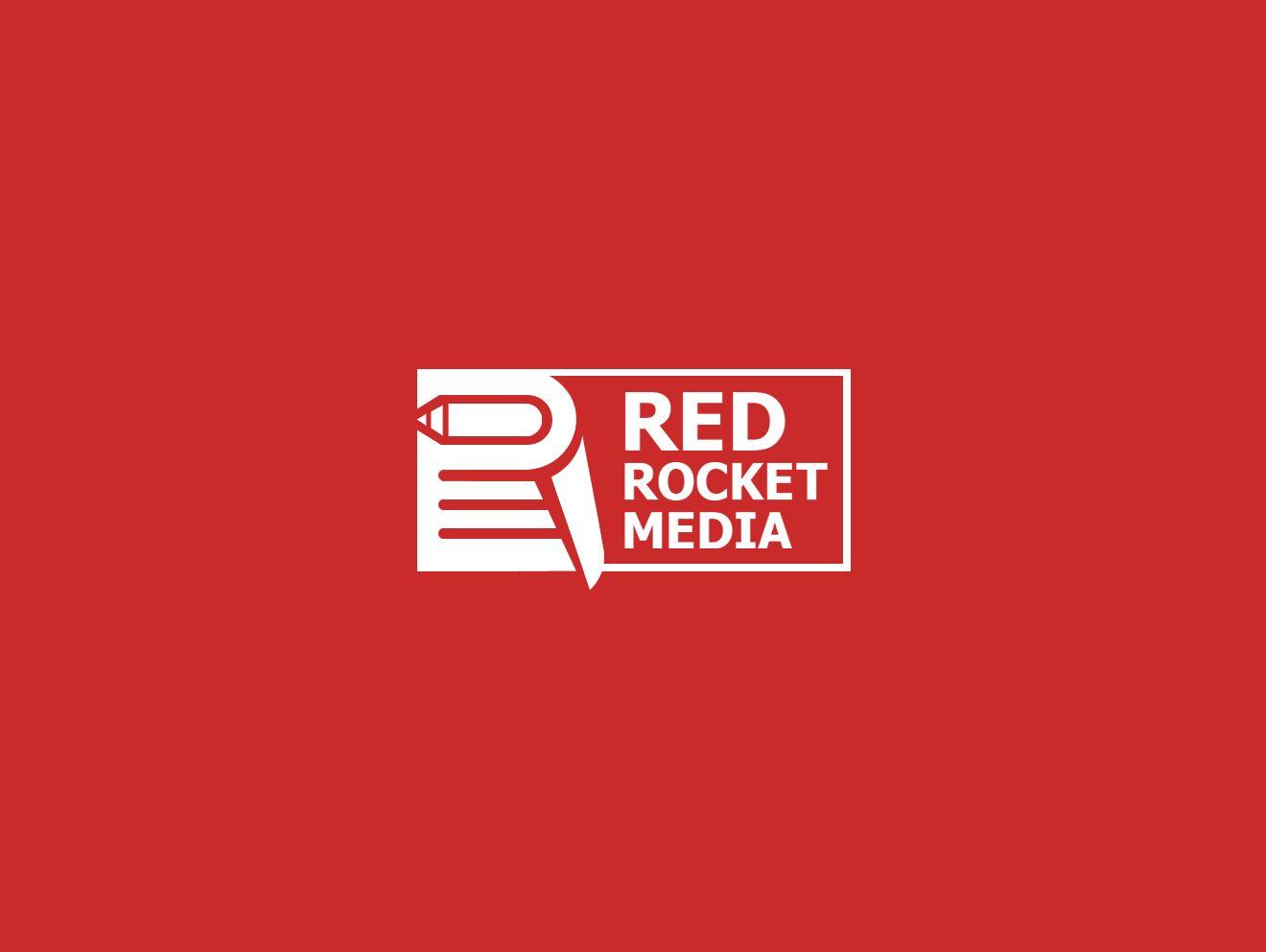 Лого и фирменный стиль для RedRocketMedia - дизайнер webgrafika