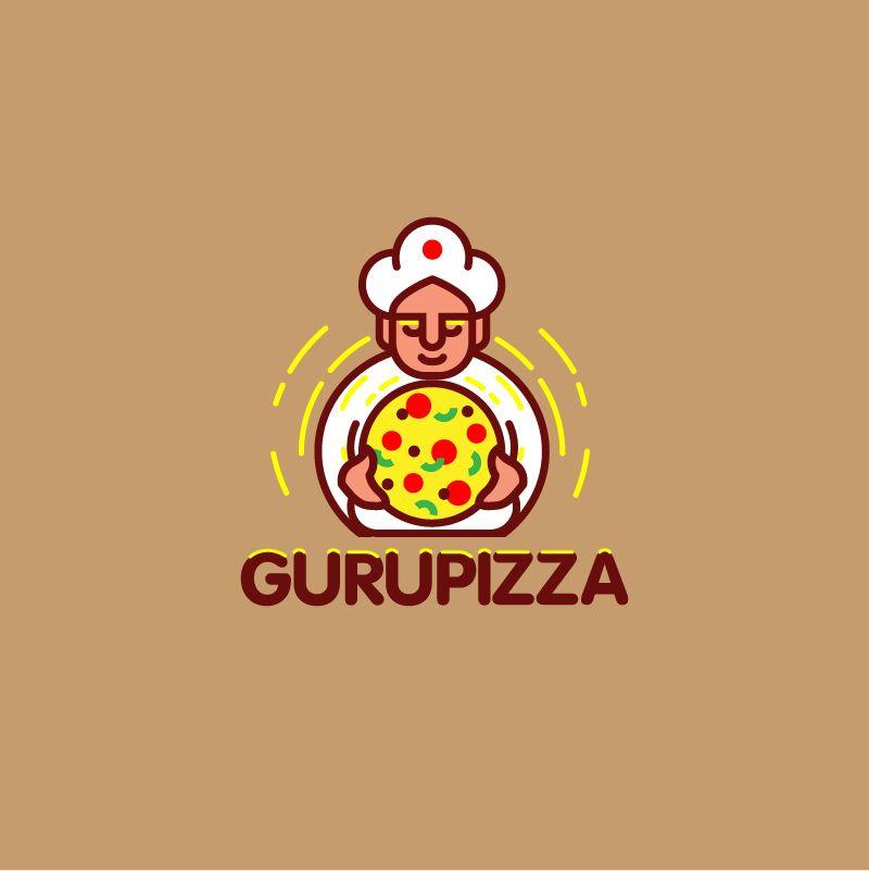 Логотип для GURUPIZZA - дизайнер designer12345
