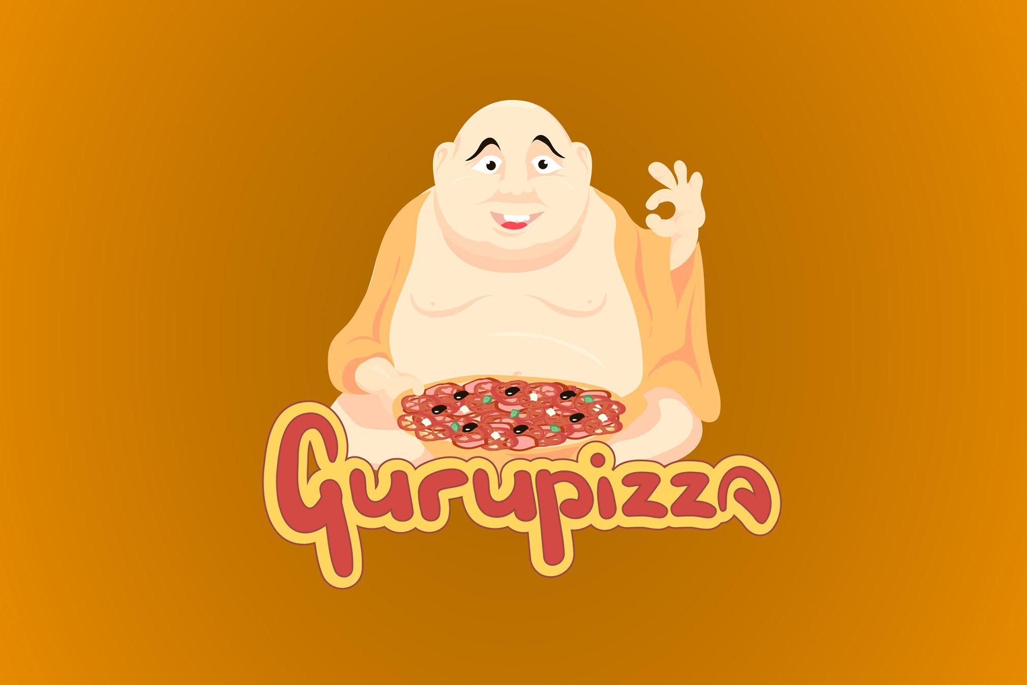 Логотип для GURUPIZZA - дизайнер tschudik