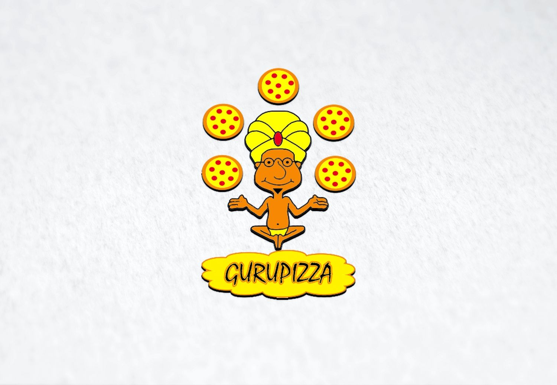 Логотип для GURUPIZZA - дизайнер vfkfotyrj90