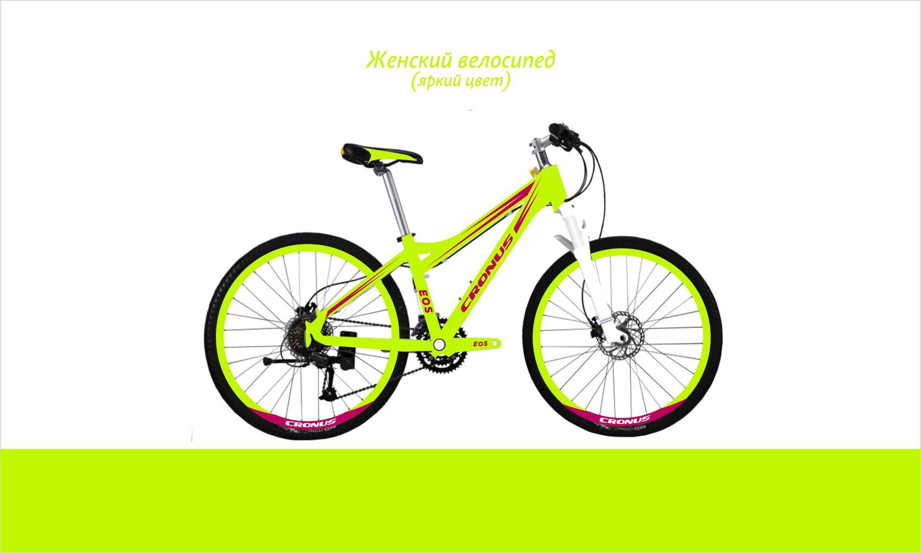 Дизайн для коллекции велосипедов Cronus - дизайнер supersonic
