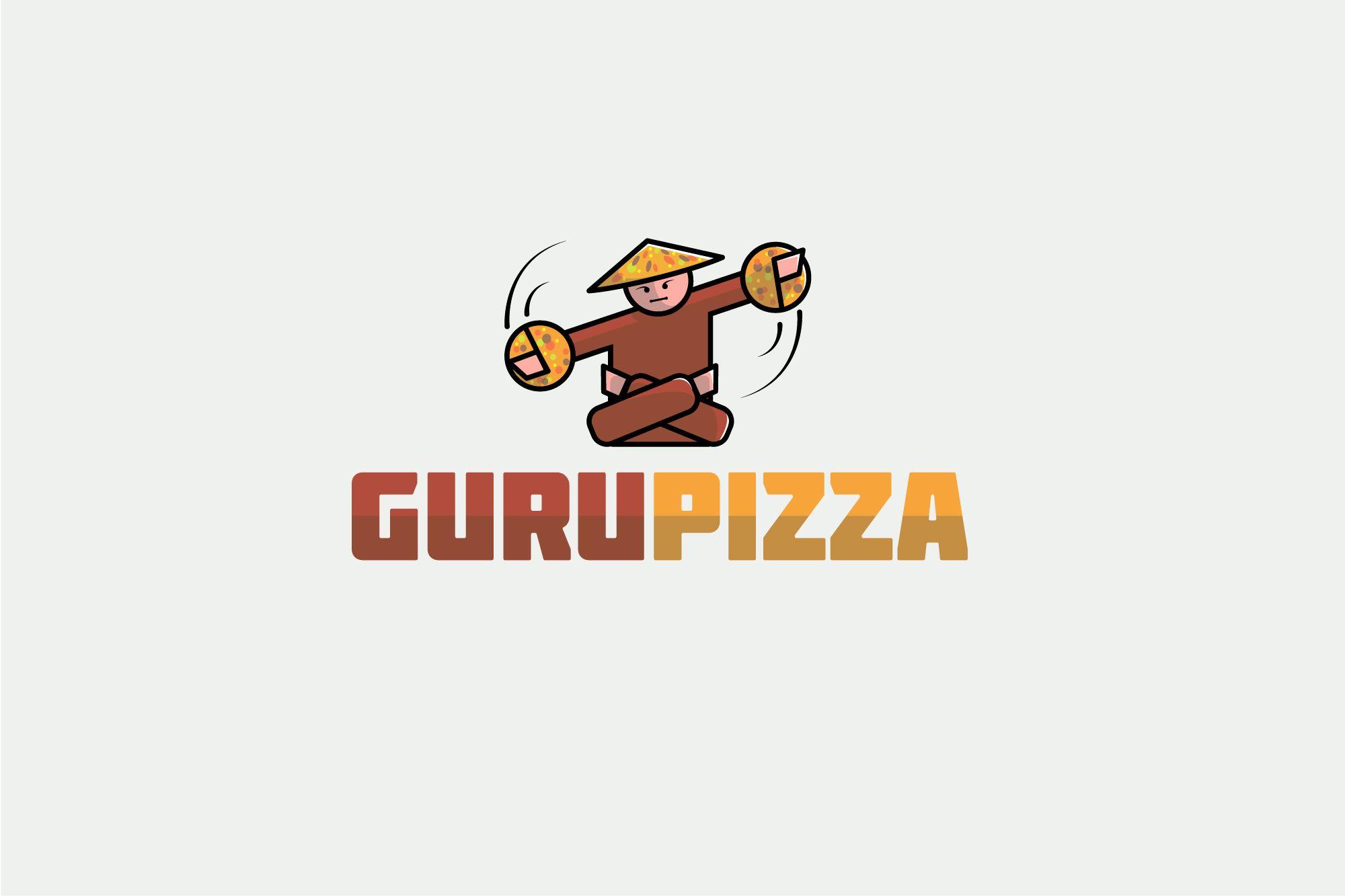 Логотип для GURUPIZZA - дизайнер BorushkovV