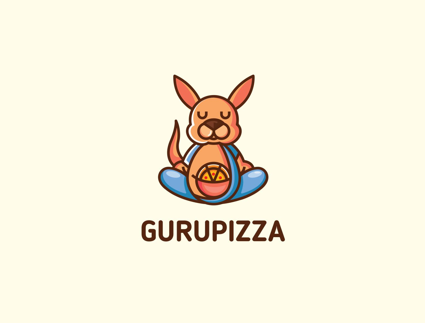 Логотип для GURUPIZZA - дизайнер Isoptera