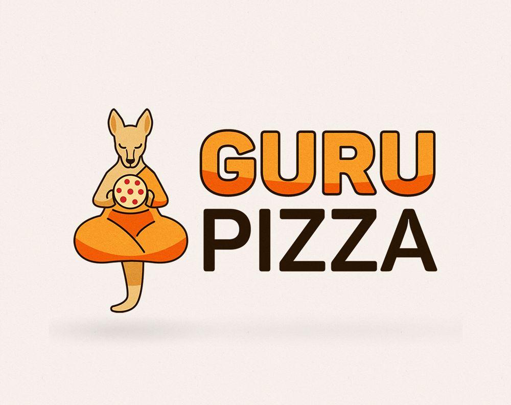 Логотип для GURUPIZZA - дизайнер LimonovaNastya