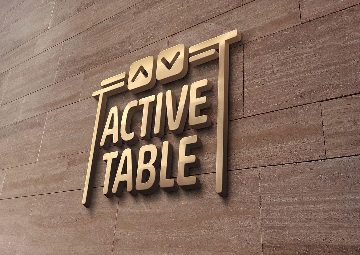 Логотип для Active Table - дизайнер grrssn