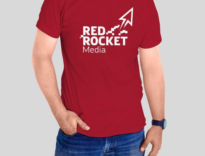 Лого и фирменный стиль для RedRocketMedia - дизайнер luishamilton