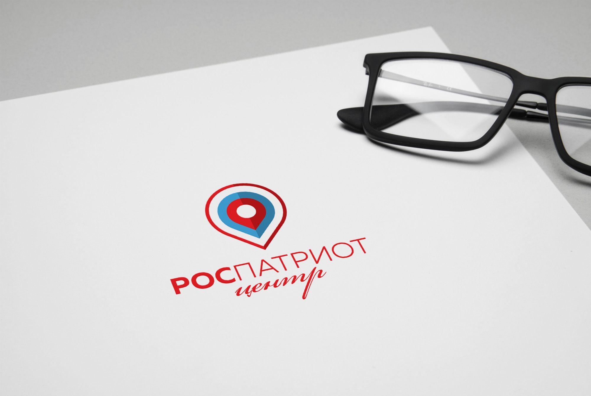 Логотип для роспатриотцентр - дизайнер nuttale