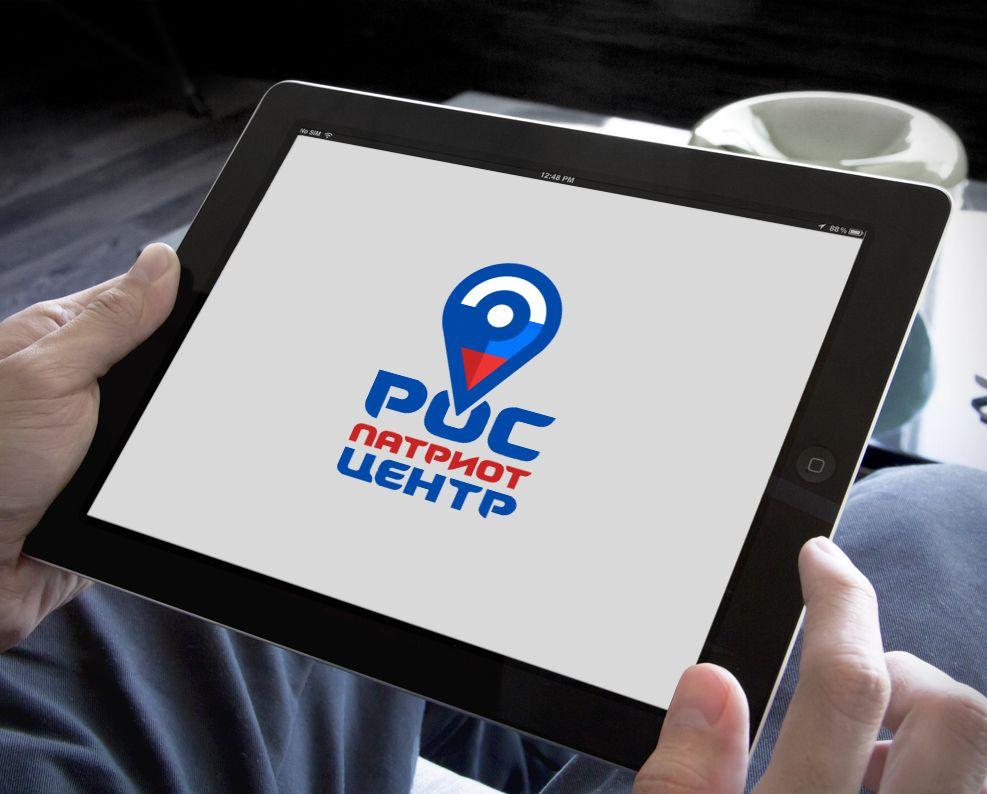 Логотип для роспатриотцентр - дизайнер webgrafika