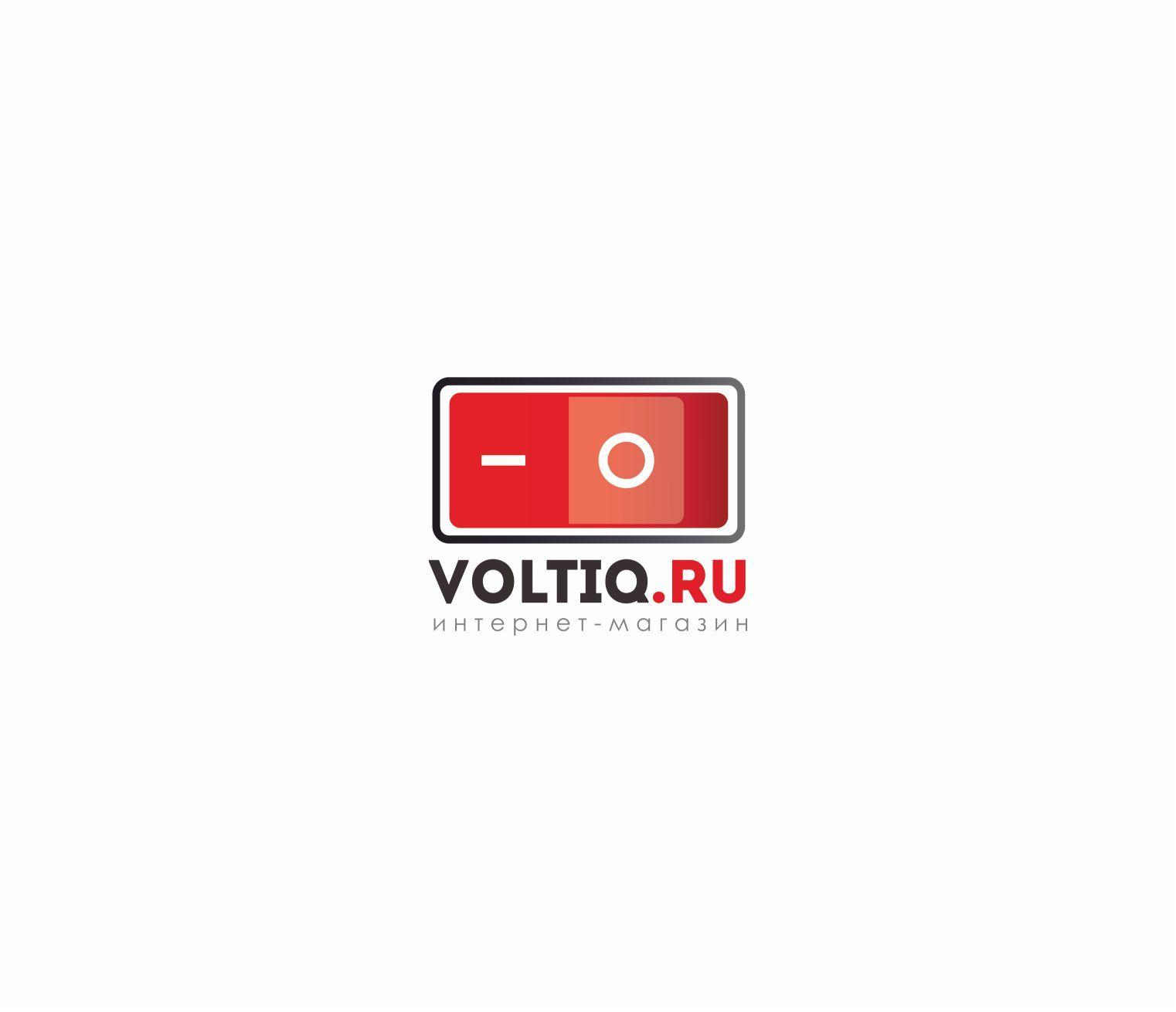 Логотип для Интернет-магазин Вольтик (VoltIQ.ru) - дизайнер Katarinka