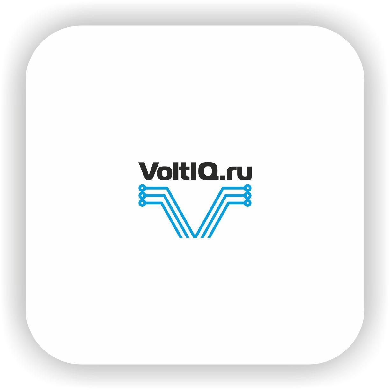 Логотип для Интернет-магазин Вольтик (VoltIQ.ru) - дизайнер Nikus