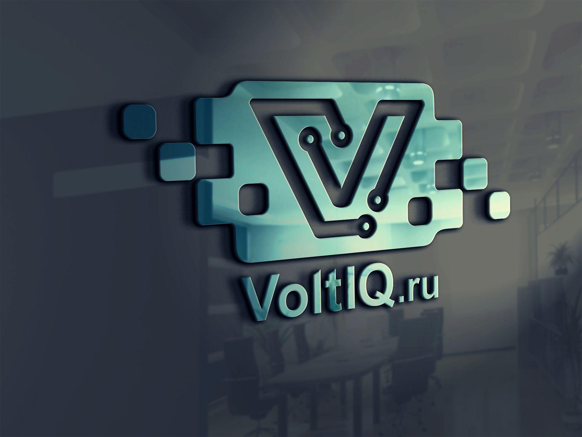 Логотип для Интернет-магазин Вольтик (VoltIQ.ru) - дизайнер Zheravin