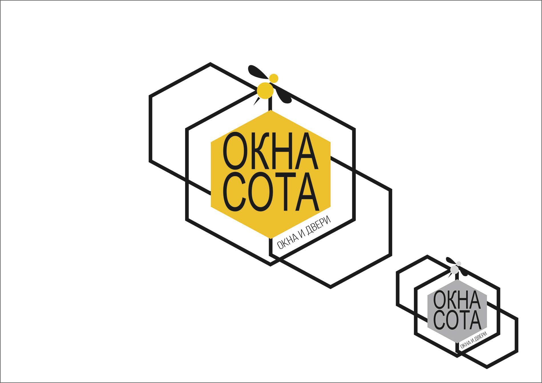 Логотип для ОКНАСОТА - дизайнер psixxx1101