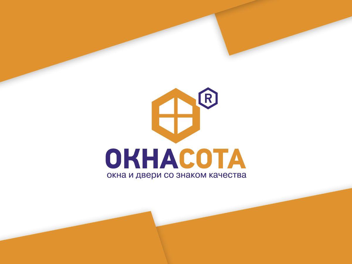 Логотип для ОКНАСОТА - дизайнер oksygen