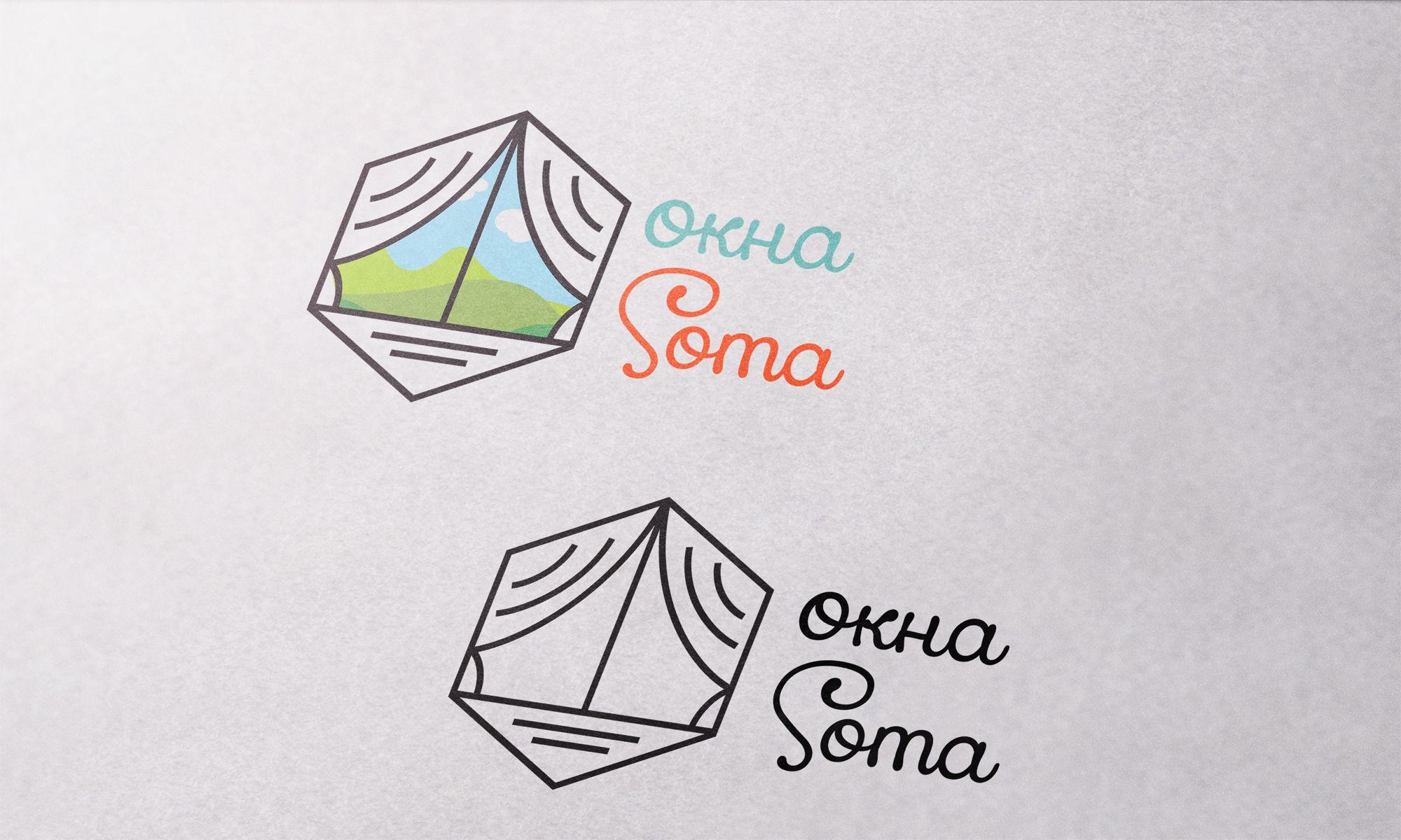 Логотип для ОКНАСОТА - дизайнер outsiderr