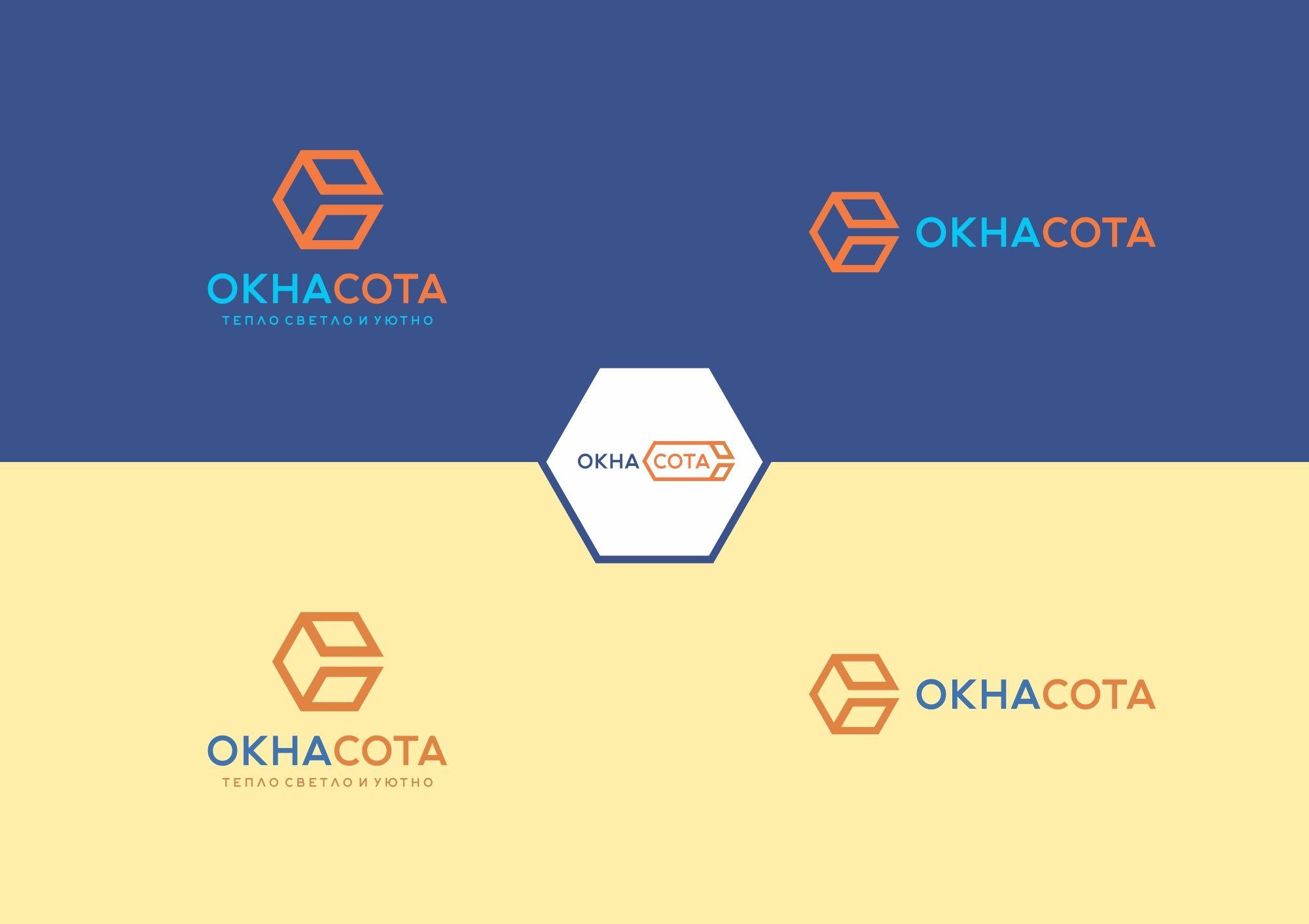 Логотип для ОКНАСОТА - дизайнер smithy-style