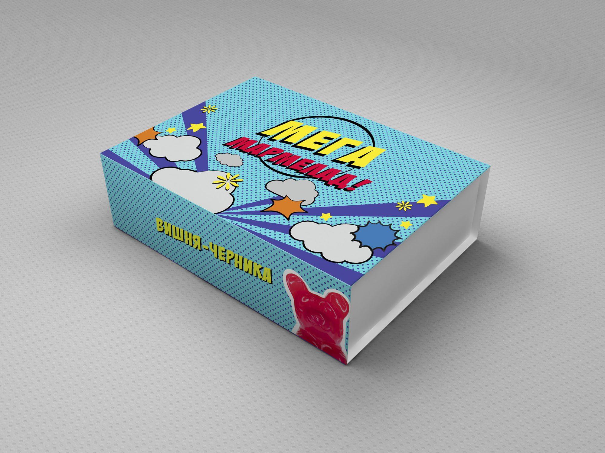 Этикетка для упаковки Мега Мармелада - дизайнер annavasilisa