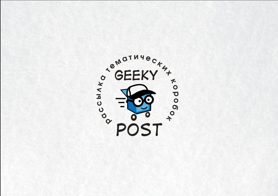 Логотип для Коробки для гиков и геймеров - дизайнер peps-65