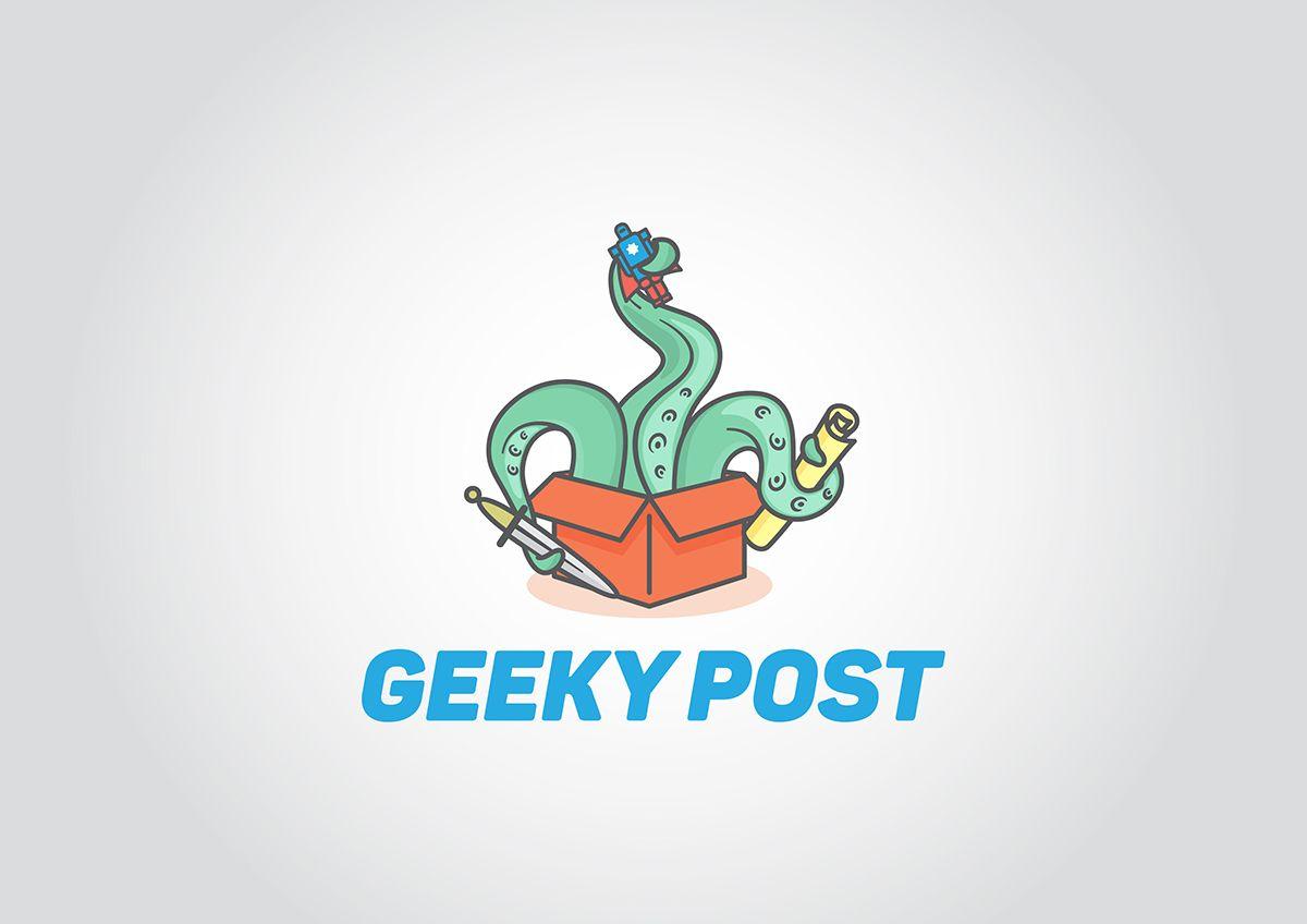 Логотип для Коробки для гиков и геймеров - дизайнер MRserjo