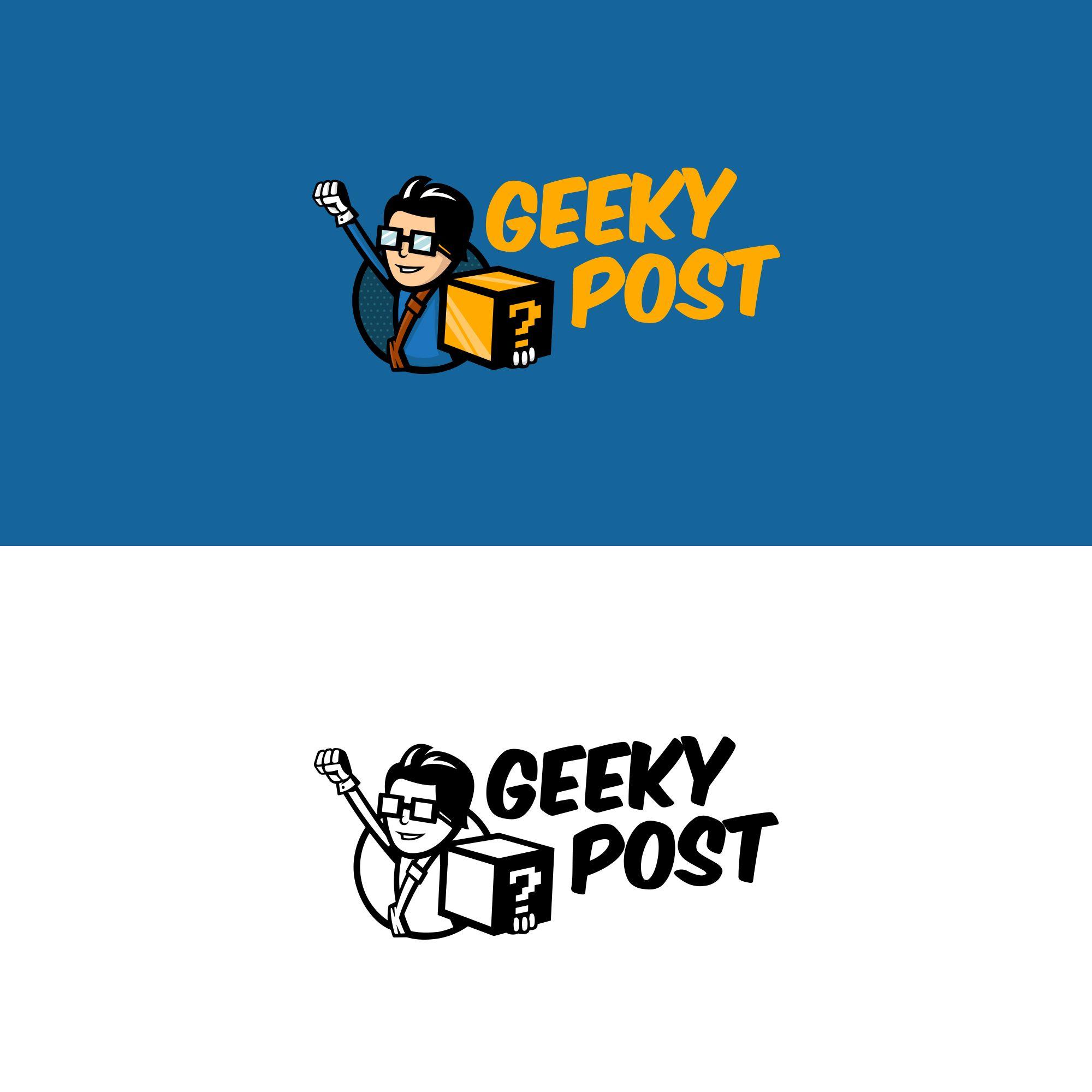Логотип для Коробки для гиков и геймеров - дизайнер drawmedead