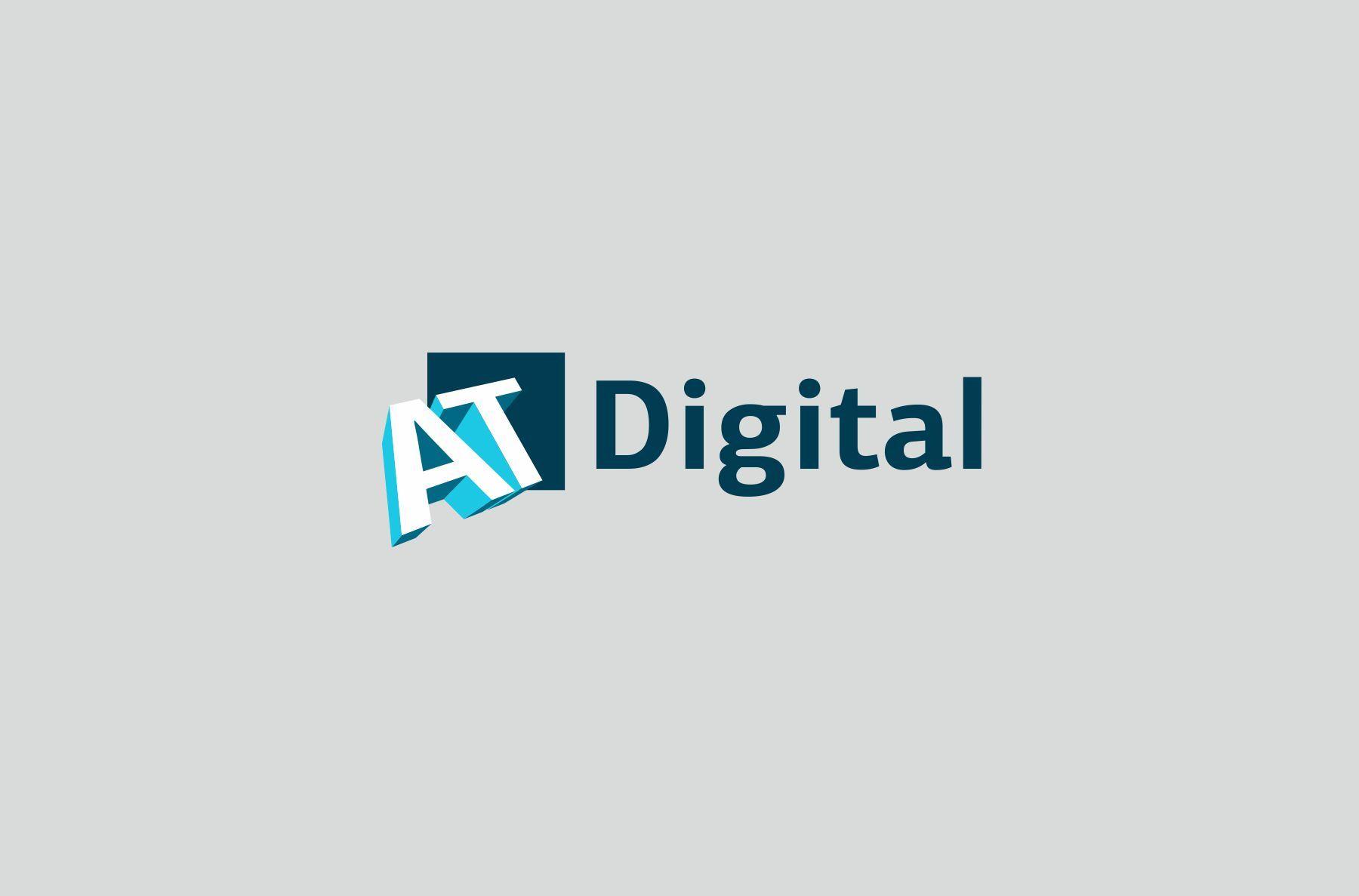 Логотип для ATDigital - дизайнер SvetlanaA