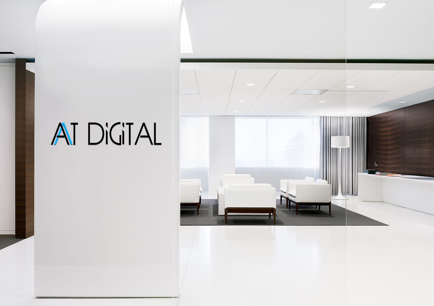 Логотип для ATDigital - дизайнер konli