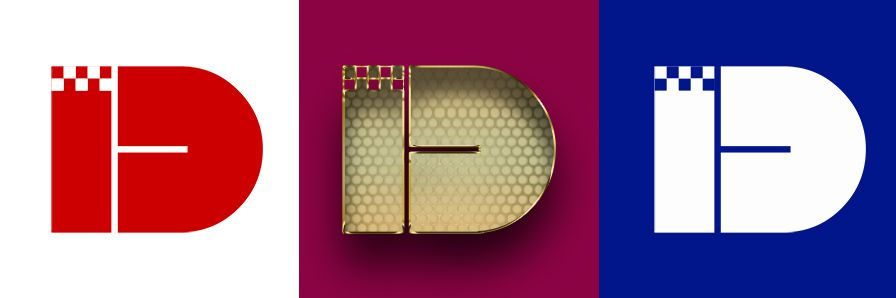 Лого и фирменный стиль для iD Такси - дизайнер Exelenz30