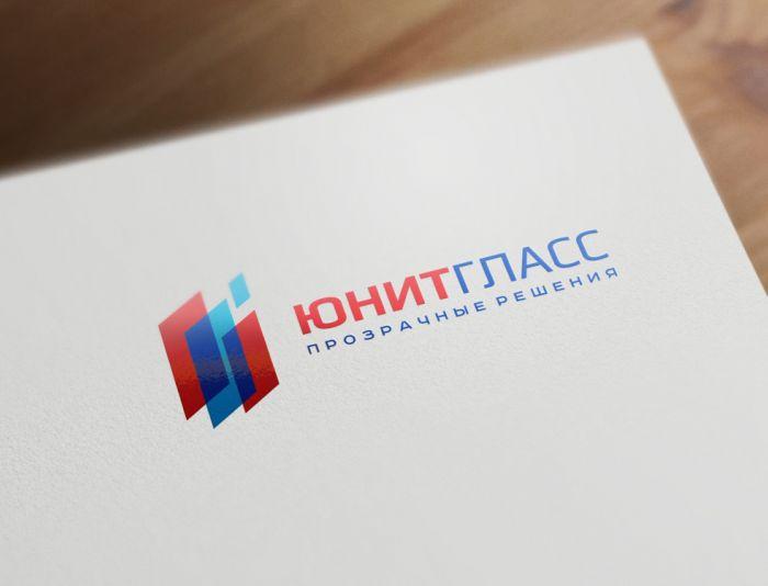 Логотип для ЮнитГласс Фабрика стекла - дизайнер zozuca-a