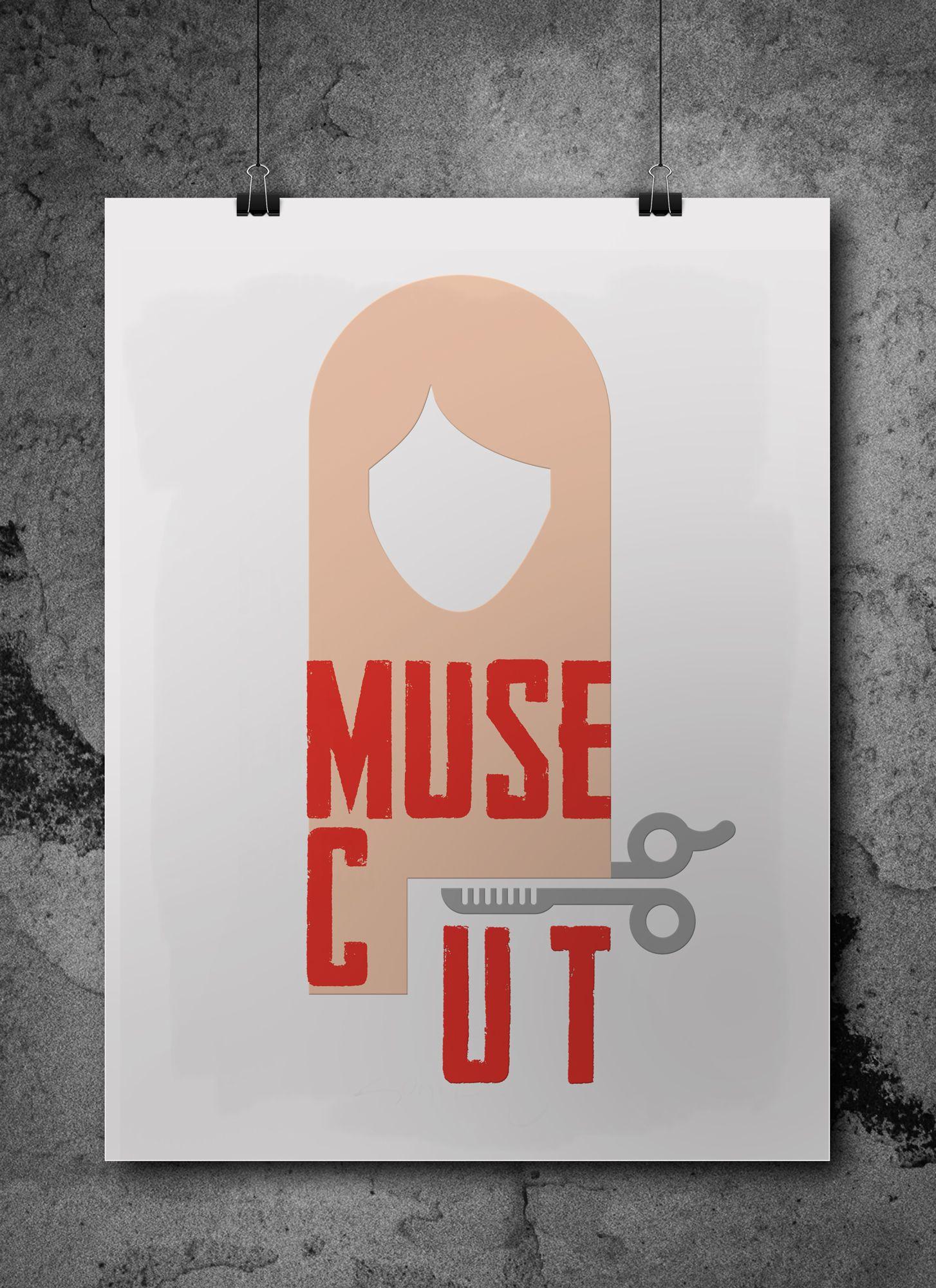 Логотип для MuseCut - дизайнер bobrofanton
