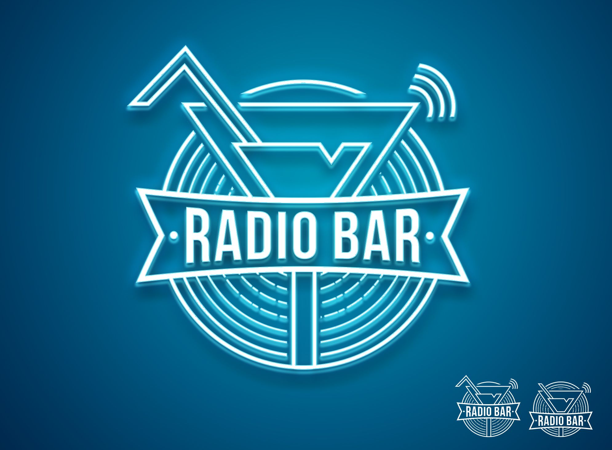 Логотип для Radio bar - дизайнер Logostev